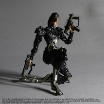 Deus Ex: Human Revolution - Elena Fedorova Play Arts Kai Action Figure NEW! - $49.99