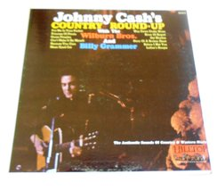 Johnny's Cash's Country Round-Up (1965 Hilltop JS-6010) [Vinyl] Johnny Cash - $3.00