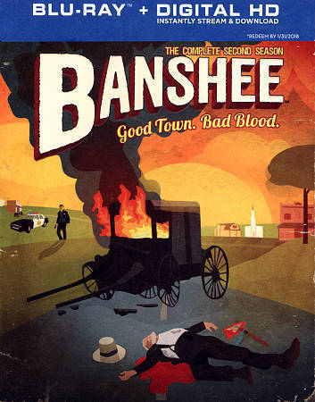 Banshee: The Complete Second Season 2 (Blu-Ray Disc Set) TV Series