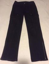 White House Black Market Rhinestones Slim Ankle Zip Blanc Size 00R Women Jeans - $29.99