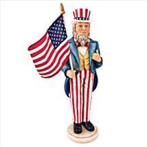 Uncle Sam Yankee Doodle Dandy Statue - $51.45