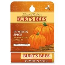 Burt's Bees Pumpkin Spice Moisturizing Lip Balm Limited Edition .15 Oz - $6.88