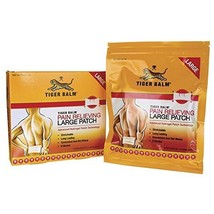 Tiger Balm Pain Relieving Patch Large Patches - $7.19