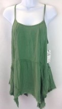 Nordstrom Rack Womens Green Spaghetti Strap Top Size Medium - $22.44