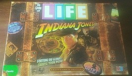 Indiana Jones The Game of Life Board Game 2008 Hasbro (Missing 2 Cards) - $24.75