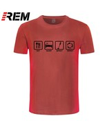 REM Brand Clothing Eat Sleep Detect Repeat Detectorists Metal Detector T... - $28.01