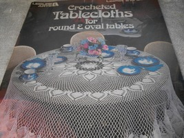 Crocheted Tablecloths for Round & Oval Tables - $7.00