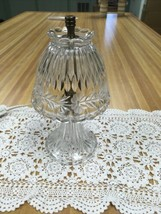 Princess House Heritage Lead Crystal Romance Lamp - $29.99