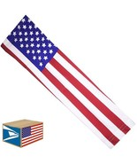 COMPRESSION ARM SLEEVE USA United States American Flag QUICK DRY XL SALE... - $8.90