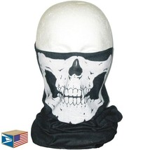 12 LOT QUICK DRY FACE MASK Skull Skeleton MILITARY STRETCH MICRO FIBER T... - $35.63