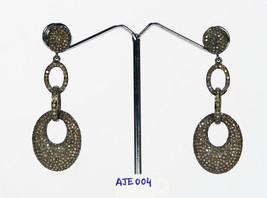 Handmade Stylish Unique Designer Link Style Women Long Dangling Oxidized... - $657.00