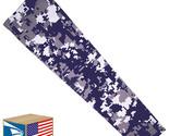 COMPRESSION ARM SLEEVE Navy Blue Digital Camo Camouflage SPORTS YOUTH MEDIUM YM!