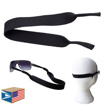 NEOPRENE SUNGLASSES SPORTS BAND Black EYEGLASSES READING GLASSES STRAP S... - $5.93