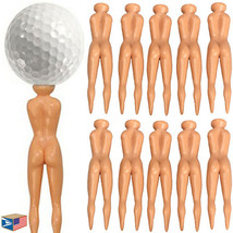 50 LOT NAKED LADY NUDE WOMAN GOLF TEES REPAIR DIVOT FUN FUNNY GOLFER GIF... - $217.79