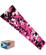 COMPRESSION ARM SLEEVE Pink Digital Camo Camouflage QUICK DRY SPORTS XL ... - $8.90