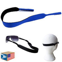 NEOPRENE SUNGLASSES SPORTS BAND Royal Blue EYEGLASSES READING GLASSES ST... - $5.93
