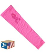 COMPRESSION ARM SLEEVE Pink Ribbon Breast Cancer QUICK DRY LARGE L SALE ... - $8.90