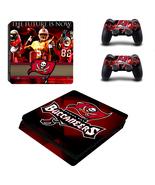 PS4 Slim Console Dualshock Skin Tampa Bay Bucca... - $12.00