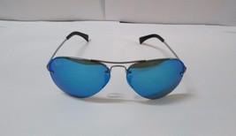 Ray-Ban Sunglasses 3449 004/55 Gunmetal Aviator Blue Mirrored NEW 100% O... - $102.99