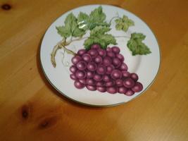 "American Atelier, Vineyard # 5039, Porcelian Salad Plate 8.25"",Excellent - $5.35"