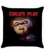 Chucky  Childs Play Black Cushion Cover Throw Pillow Case - $15.00