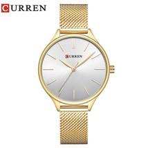 CURREN 9024 Watch Women Casual Fashion Wristwatches Creative Design Ladies Gift  - $41.43