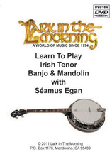 Learn To Play Irish Tenor Banjo & Mandolin DVD - $27.00
