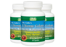 Dr. Cutler's Ultimate Colon Care Formula 3 Pack! by True Health