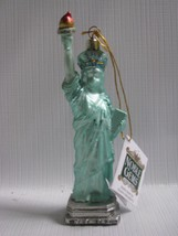 Mercury Glass Statue of Liberty Ornament   New York Noble Gems  Christmas - $23.71
