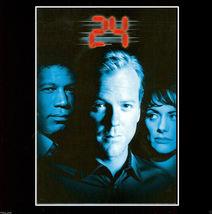 ❷❹ Fox TV Season One w Kieffer Sutherland ● 6 DVD Set 2007 R1 USA ● 24 E... - $14.95
