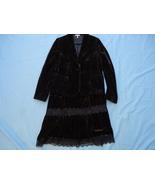 Metro  Size 10 Skirt 2 piece Velvet  - $12.00