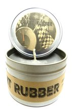 Burnt Rubber (Great for Racers) 8oz All Natural Soy Candle Tin (Take It ... - $10.56