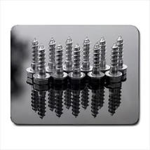 Metal Screws Mousepad (Neoprene Non-slip Mousemat) - $7.38