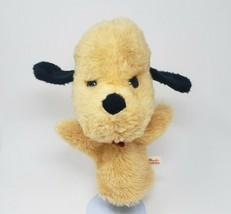 "10"" VINTAGE 1974 HENRY ANIMAL FAIR PUPPY DOG PUP HAND PUPPET STUFFED PLU... - $55.17"