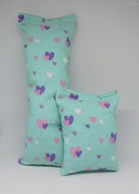 100% CatNip Filled Cat Pillow Toy Bundle Glam Hearts - $11.99