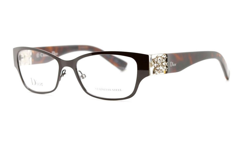 eddd879e2e31 Dior Eyeglasses 3775 Brown Crystal Havana 48N Women s Optical Frame CD3775  52mm -  296.01