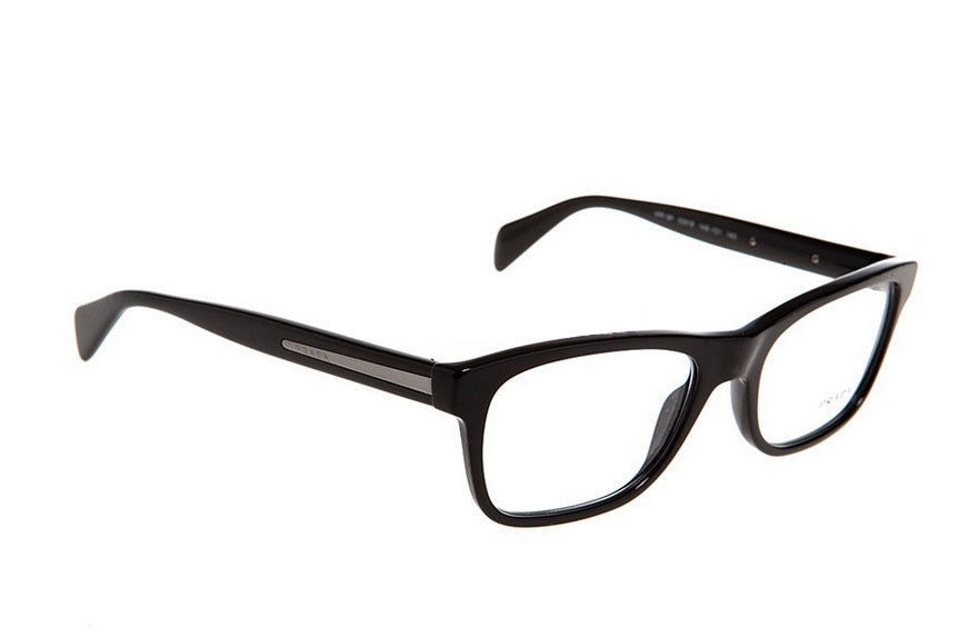 a571f852cfe Prada Eyeglasses 19P Black 1AB-1O1 Men s and 50 similar items. S l1600