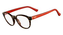 689225d270c2 Fendi Eyeglasses 1023 Striped Brown 210 Women  39 s Optical Frame F1023  49mm -