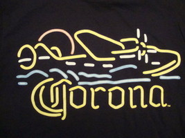 New Corona Mexico  Mexican Beer Party black neon style  t Shirt S - $11.87