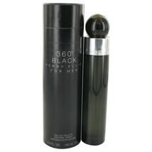 Perry Ellis 360 Black by Perry Ellis Eau De Toilette Spray 3.4 oz - $30.95