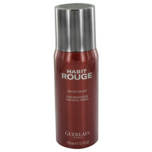 HABIT ROUGE by Guerlain Deodorant Spray 5 oz - $44.95