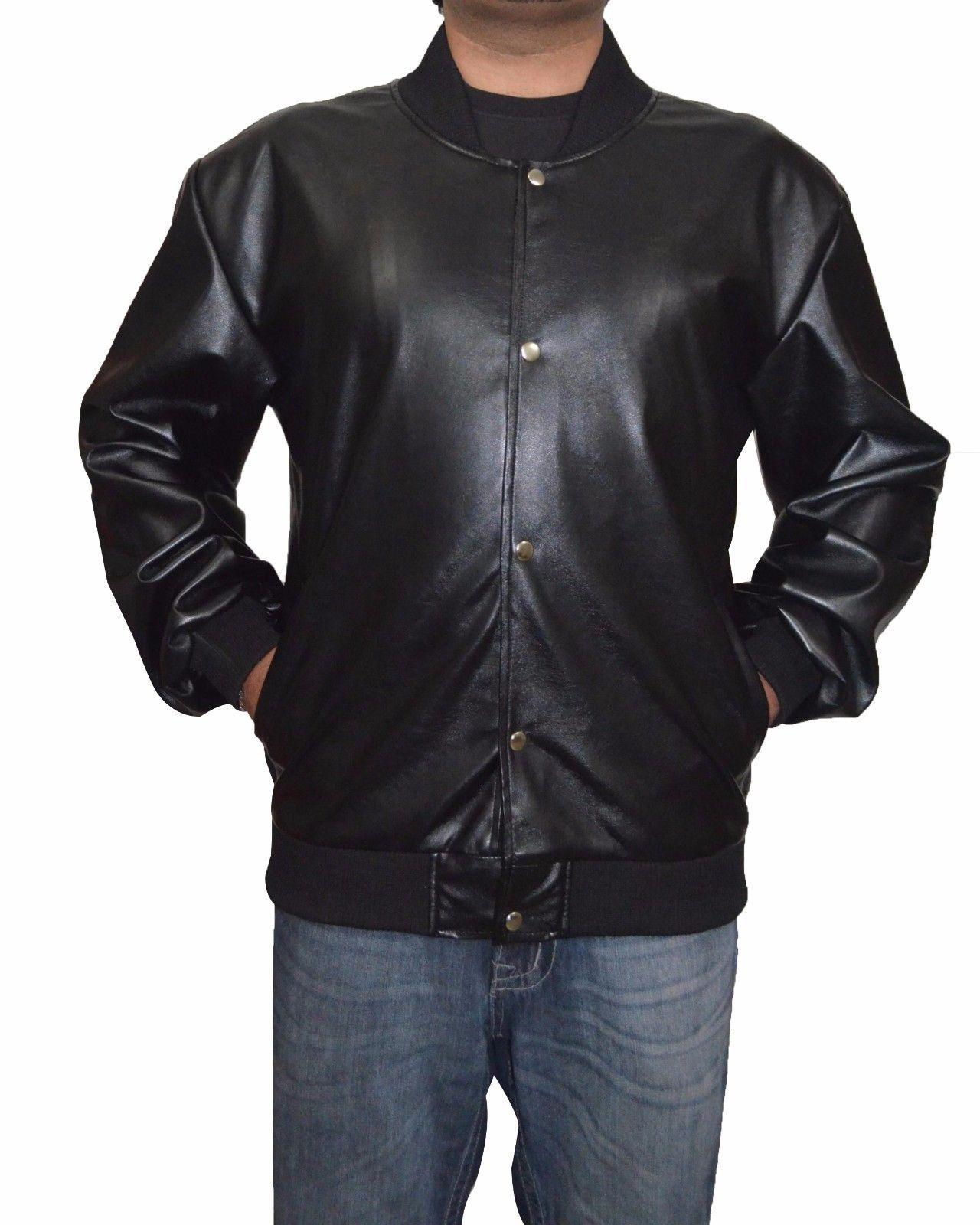 Men's Leather Jacket Handmade Black Motorcycle Solid Lambskin Leather Coat-HWL9