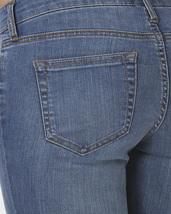 Stretch Skinny Medium Wash Denim Jeans Mid Rise Pants Scarlet Boulevard image 5