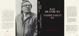 Ray Bradbury FAHRENHEIT 451 1967 black edition facsimile jacket - $21.56