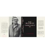 Ray Bradbury FAHRENHEIT 451 1967 black edition facsimile jacket - $21.56