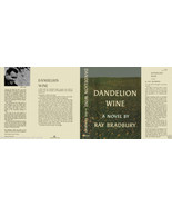 Ray Bradbury DANDELION WINE facsimile dust jacket for US first edition book - $21.56