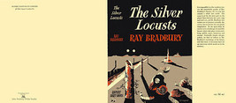Ray Bradbury THE SILVER LOCUSTS facsimile dust jacket for UK first editi... - $21.56