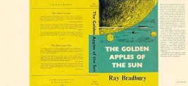 Ray Bradbury GOLDEN APPLES OF THE SUN facsimile dust jacket for first UK... - $21.56