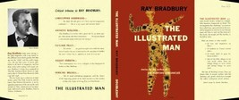 Ray Bradbury THE ILLUSTRATED MAN facsimile dust... - $21.78