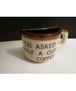 Virginia Beach Half Cup of Coffee Cup Mug - Nov... - $4.00